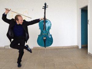 Eröffnungsfest Jagdmomente<br>Cello von Christopher Herrmann