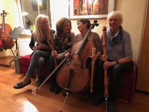 Gedichte, die das Leben schrieb<br>Lesung mit Evergreens des Ensembles Cantharelli