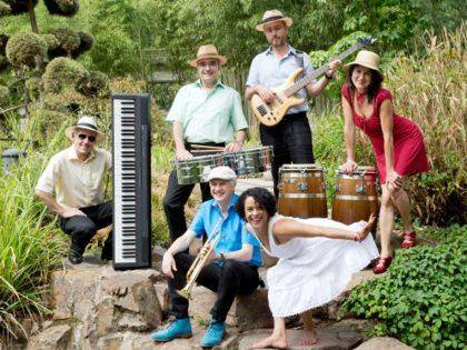Eröffnungsfest Sommerbilder<br>Latino-Jazz von ¡HUEPA!