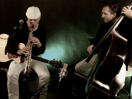 """Eröffnungsfest """"tuten und blasen""""<br>Musik des Duos Bazzoo"""
