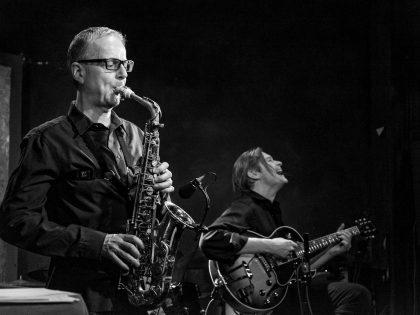 Eröffnungsfest Cicatrices<br>Jazzduo Jeanfrançois Prins und Ulli Jünemann